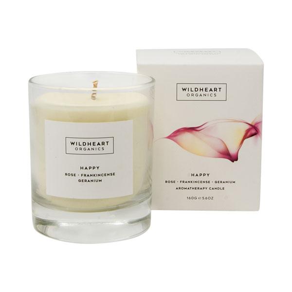 Wildheart Organics Spa Candle - Happy