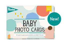 Milestone Baby Photo Cards