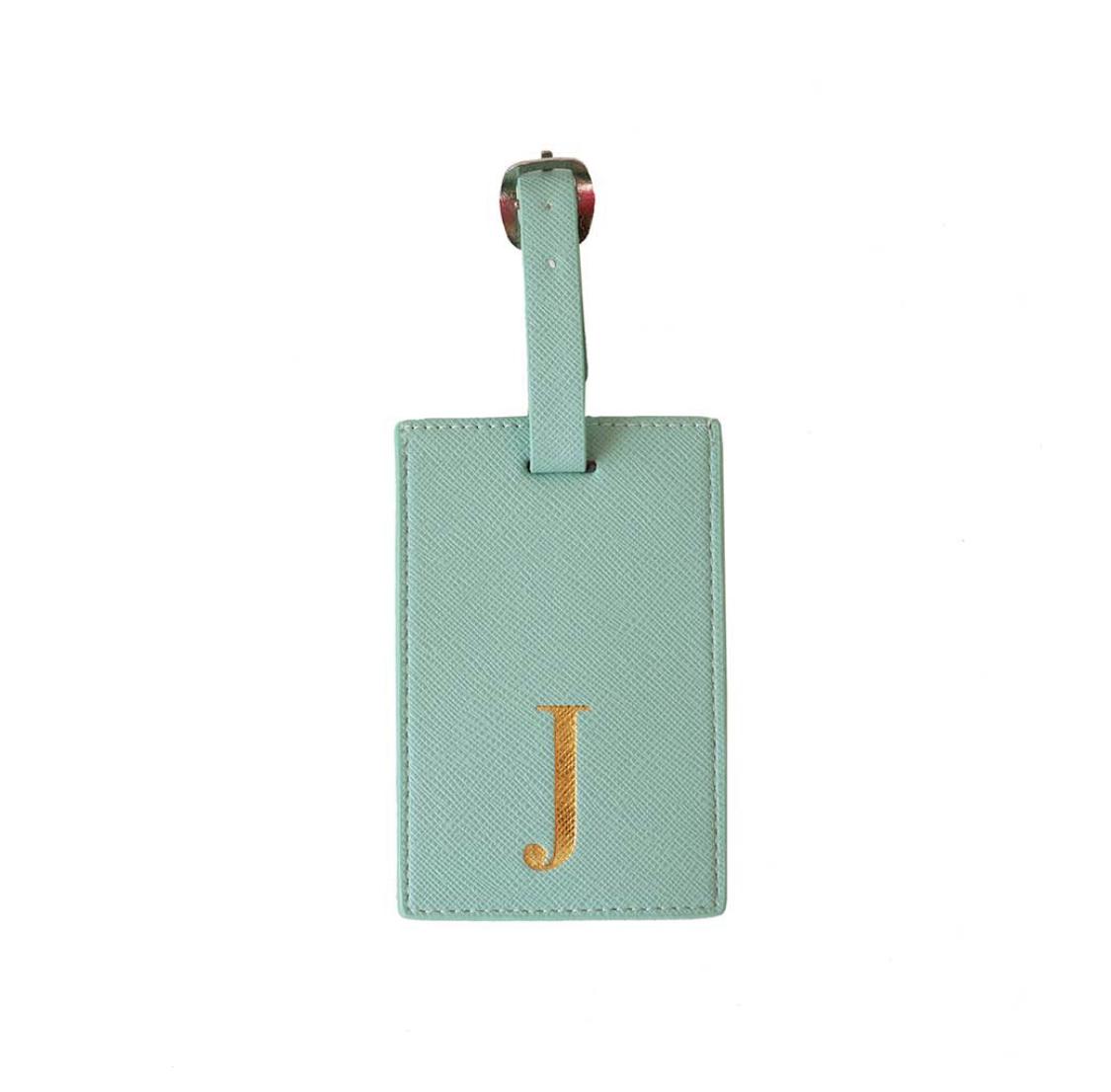 Bombay Duck Alphabet Luggage Tag - J