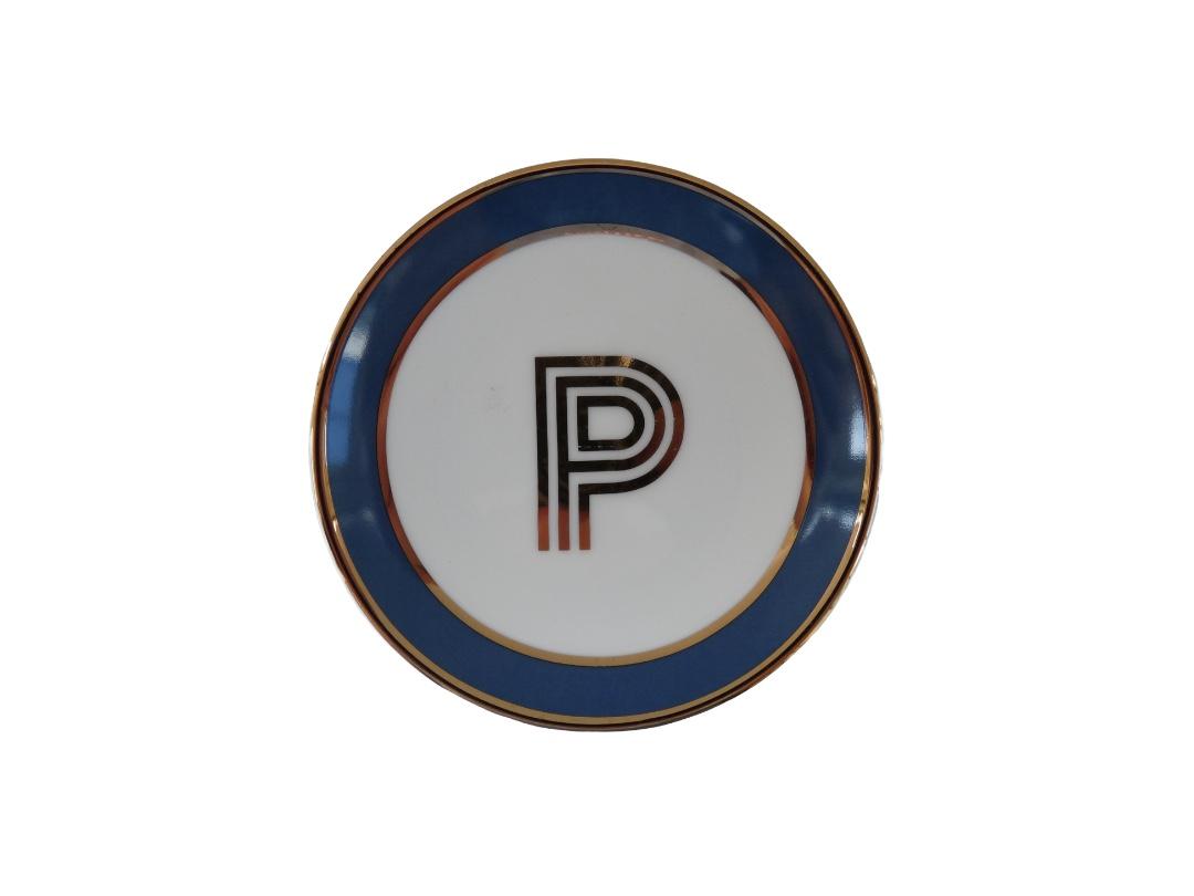 Bombay Duck Alphabet Trinket Dish - P