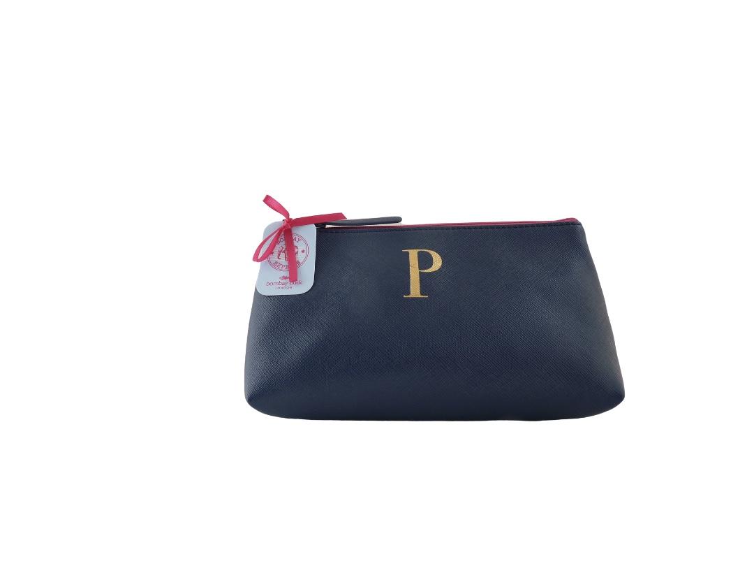 Bombay Duck Alphabet Make Up Bag - P