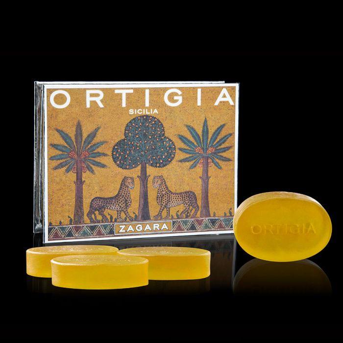 Ortigia Soap - Zagara - box of 4