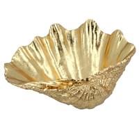 Gisela Graham Christmas Decoration Decor - Gold Shell Bowl 20522