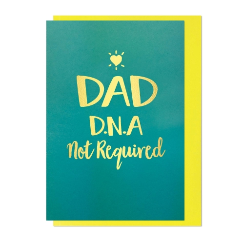 Card FD Bluebell - Dad DNA Not Required DA151