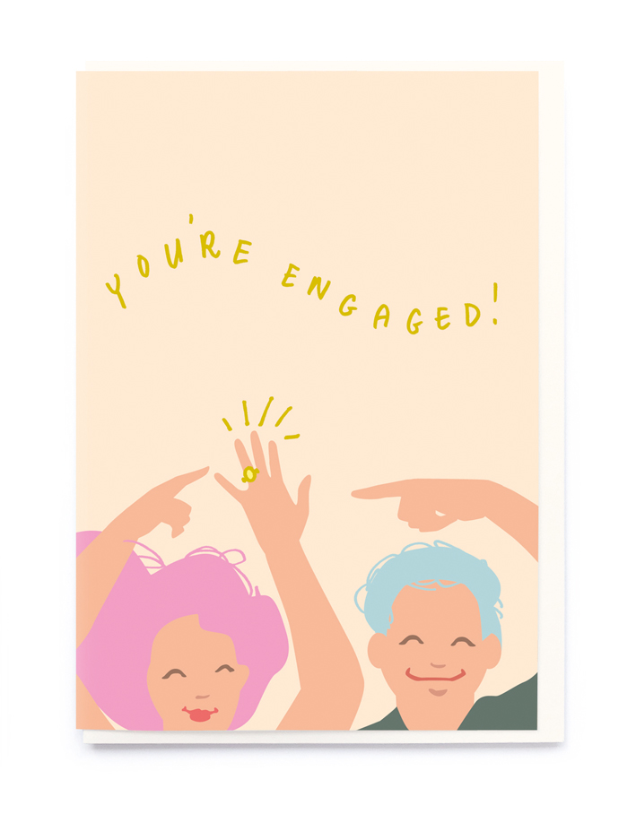 Card Engagement Noi - You're Engaged! CB019