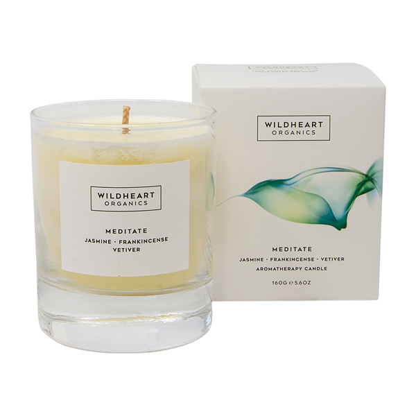 Wildheart Organics Spa Candle - Meditate