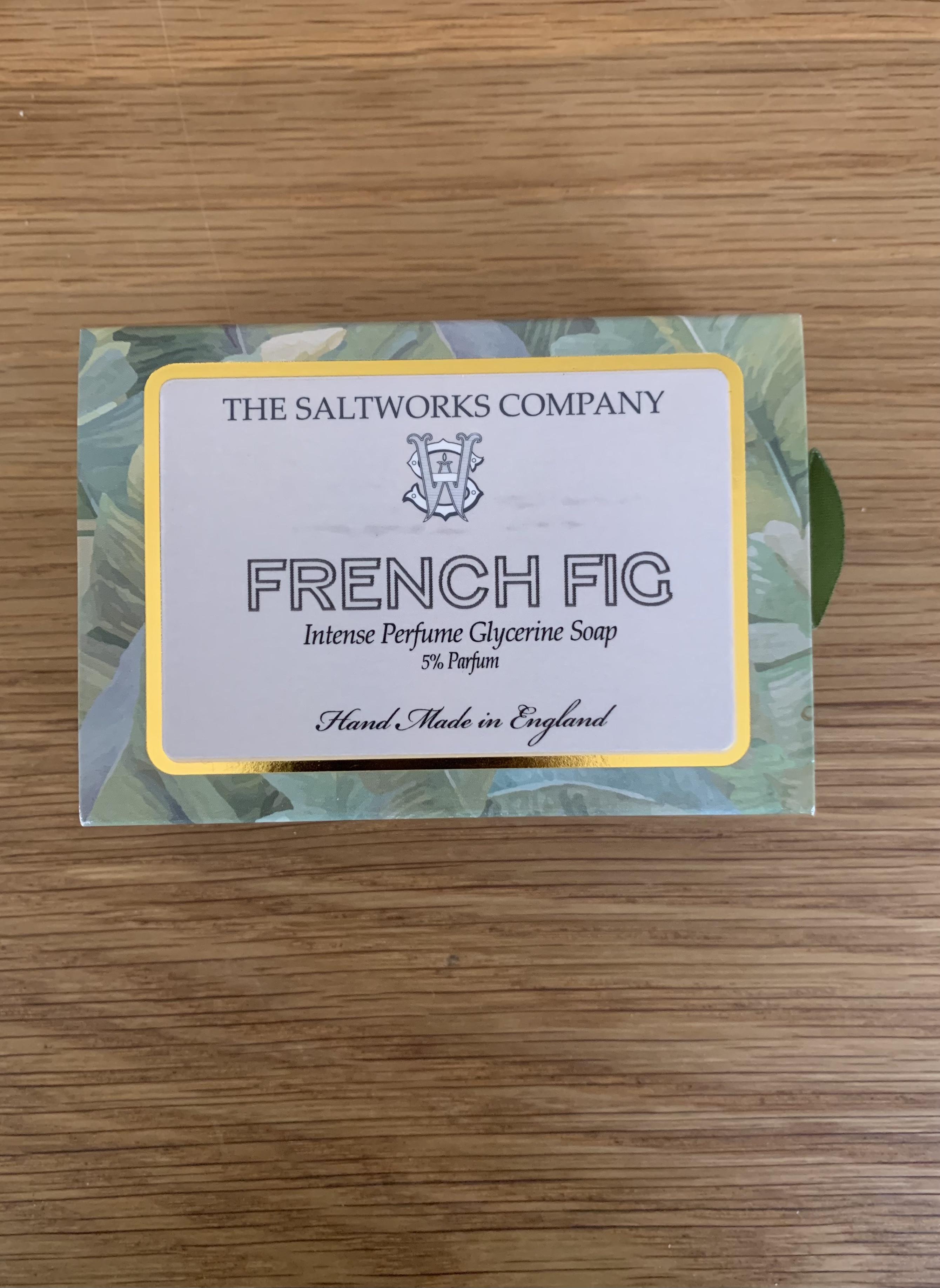 Saltworks Soap - French Fig