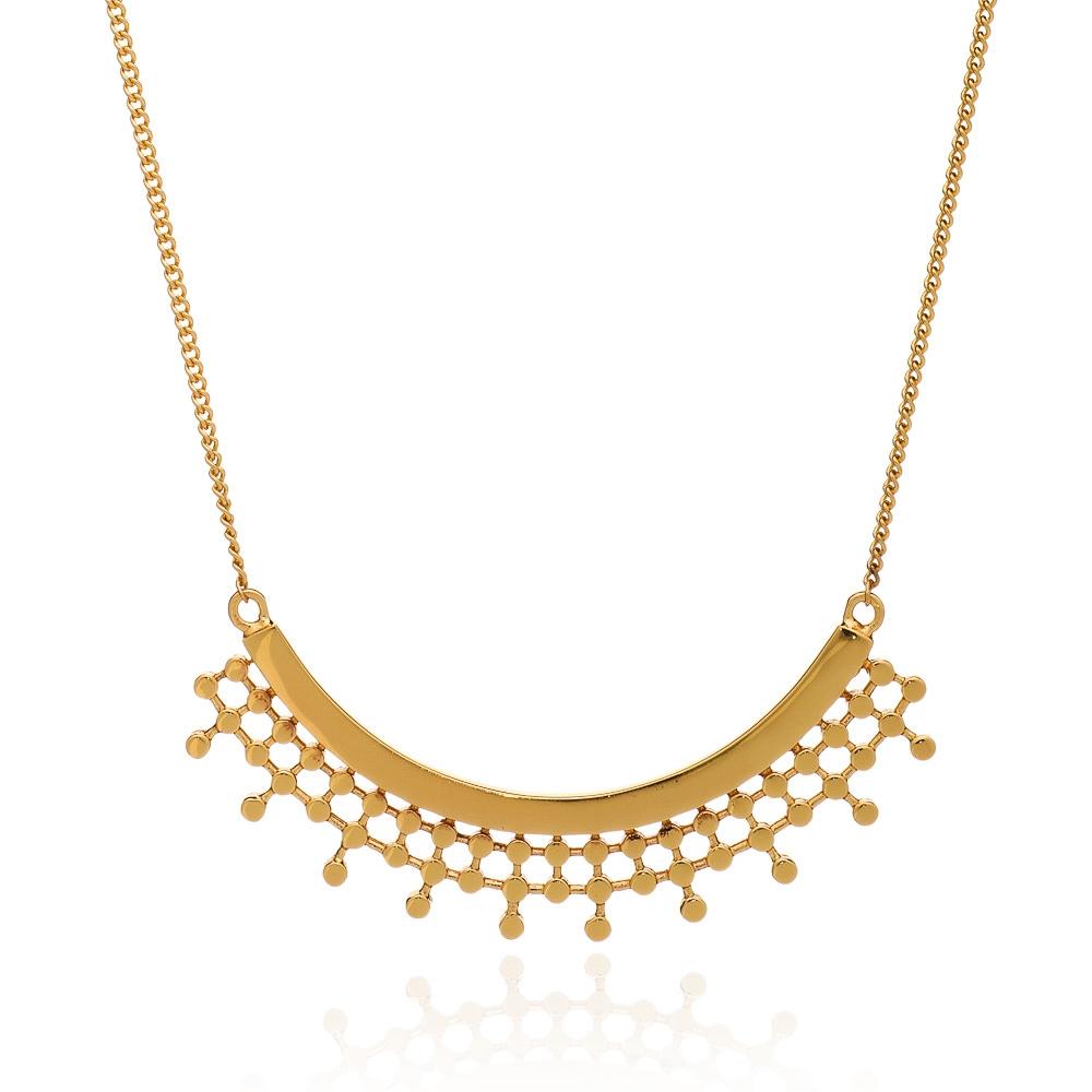 Azuni Necklace - Etrusca Curved