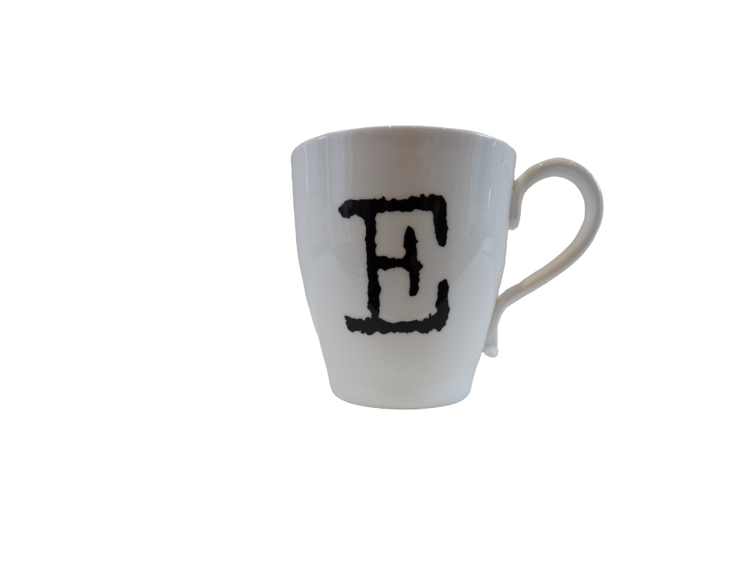 Glorious Mud Alphabet Mug - Excellent