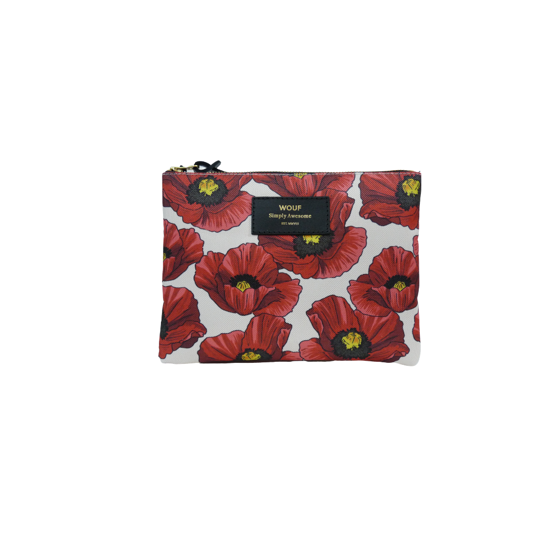 Wouf Pouch - Poppy Large