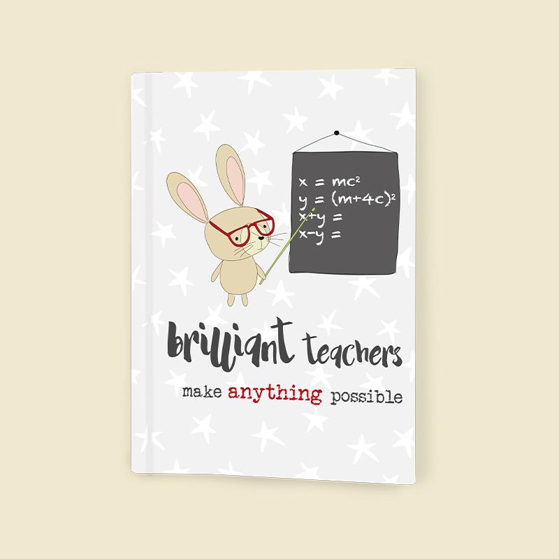 Notebook Jotter Dandelion - Brilliant Teachers NEW 6229