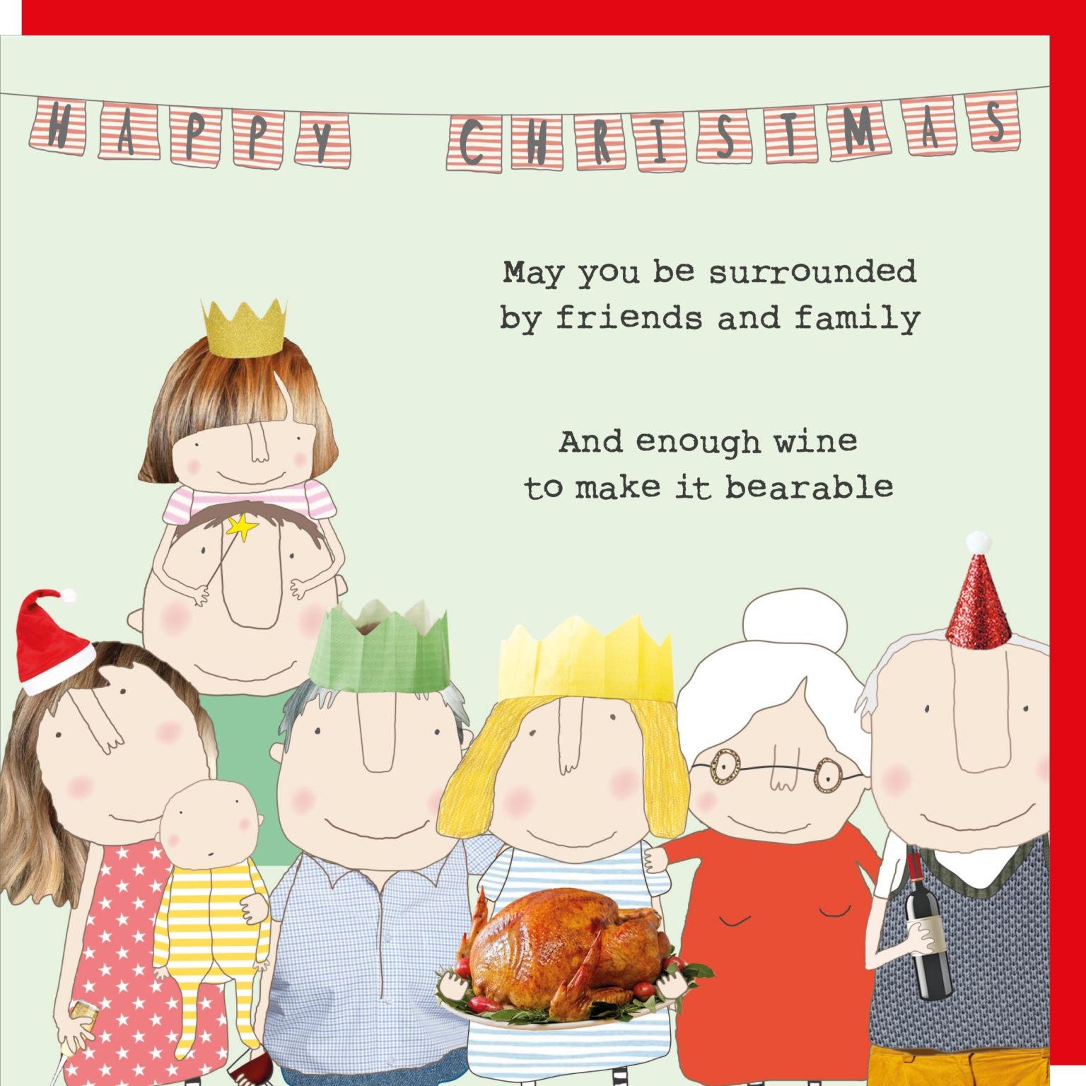 Christmas Card Rosie - Bearable XGF55