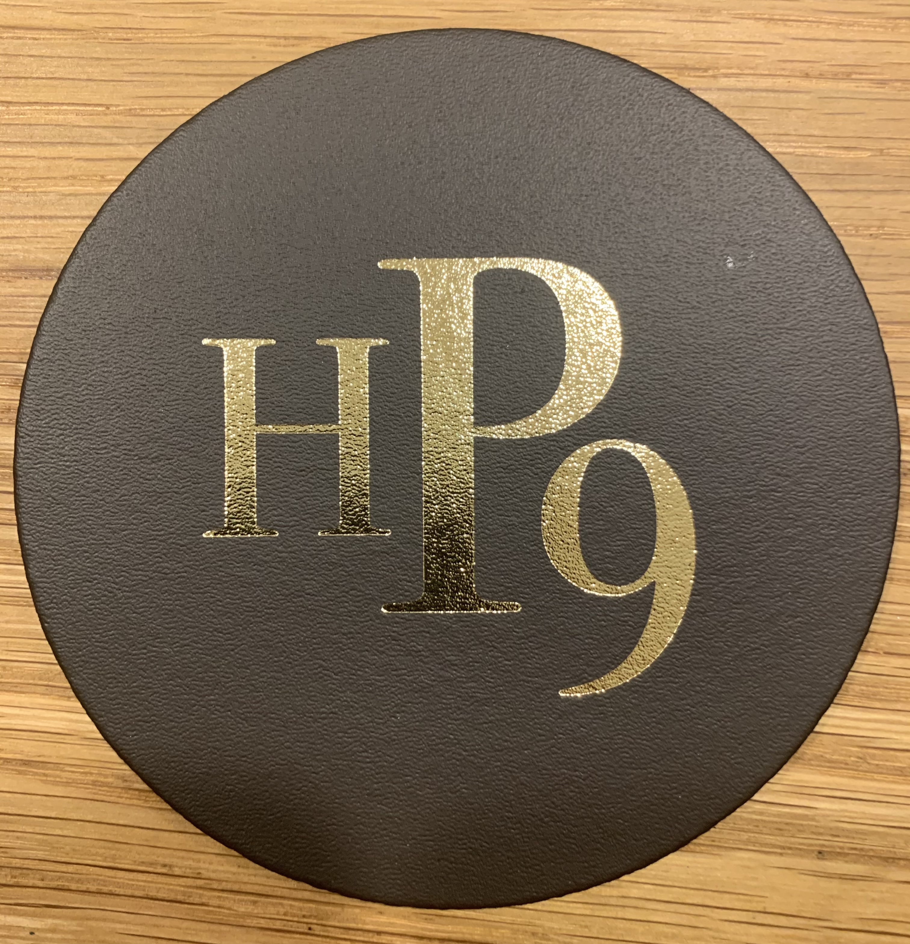 Leather Coaster - Bluebell HP9