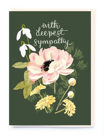 Card Sympathy Noi - With Deepest Sympathy BN021