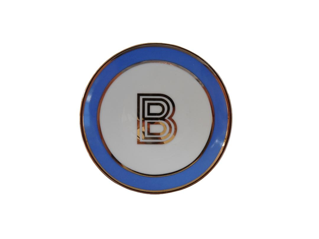 Bombay Duck Alphabet Trinket Dish - B