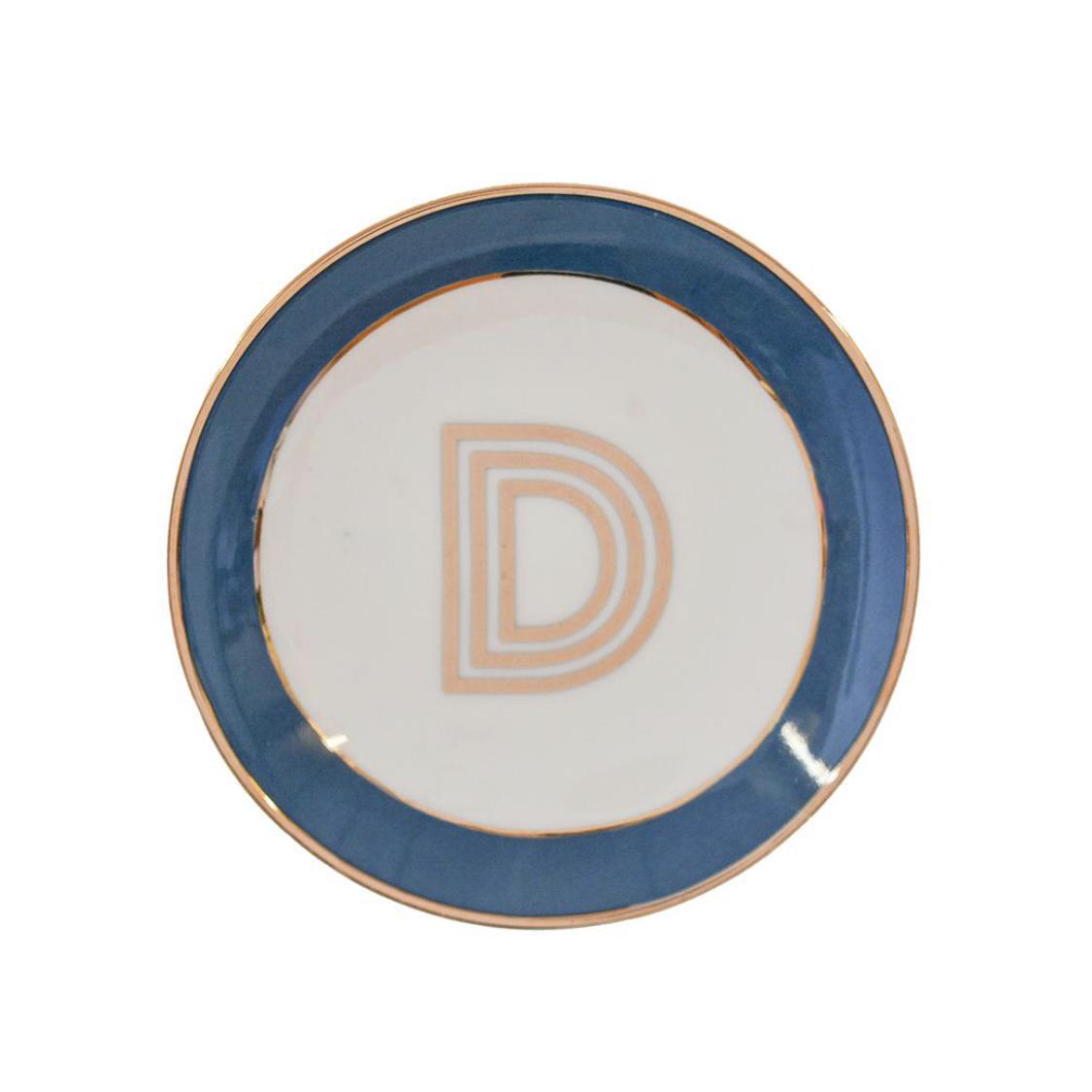 Bombay Duck Alphabet Trinket Dish - D