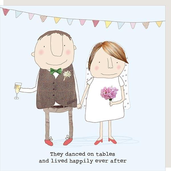 Card Wedding Rosie - Danced on Tables 86