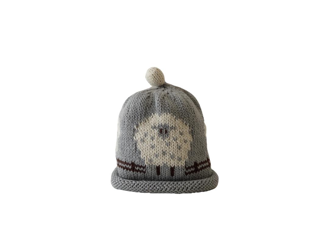 Baby Hat - Sheep Grey