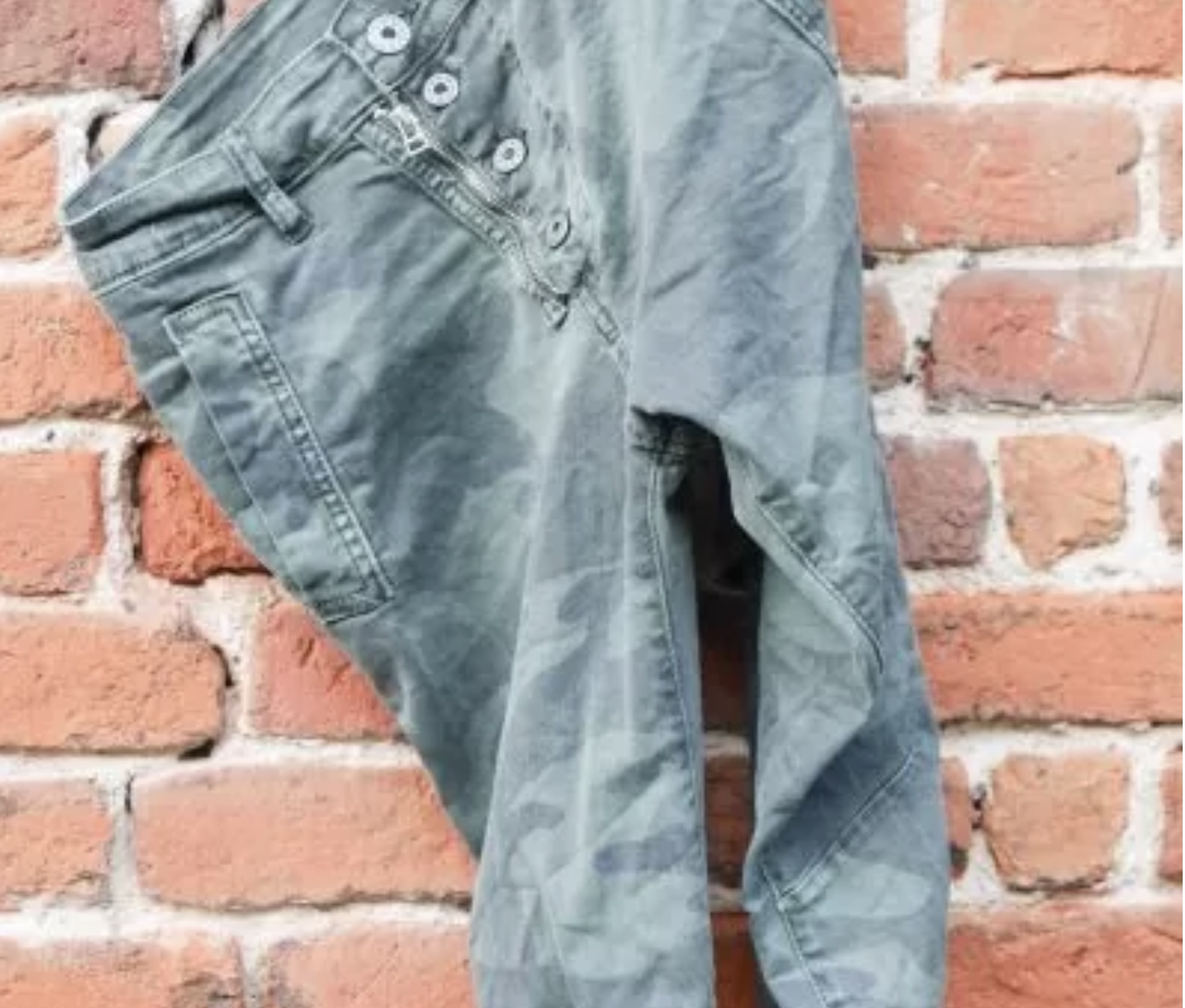 Melly & Co Jeans - Green Camo