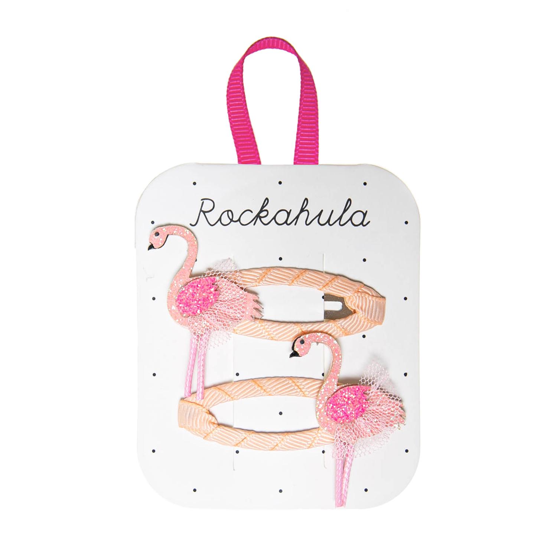 Rockahula Flamingo Tutu Clips