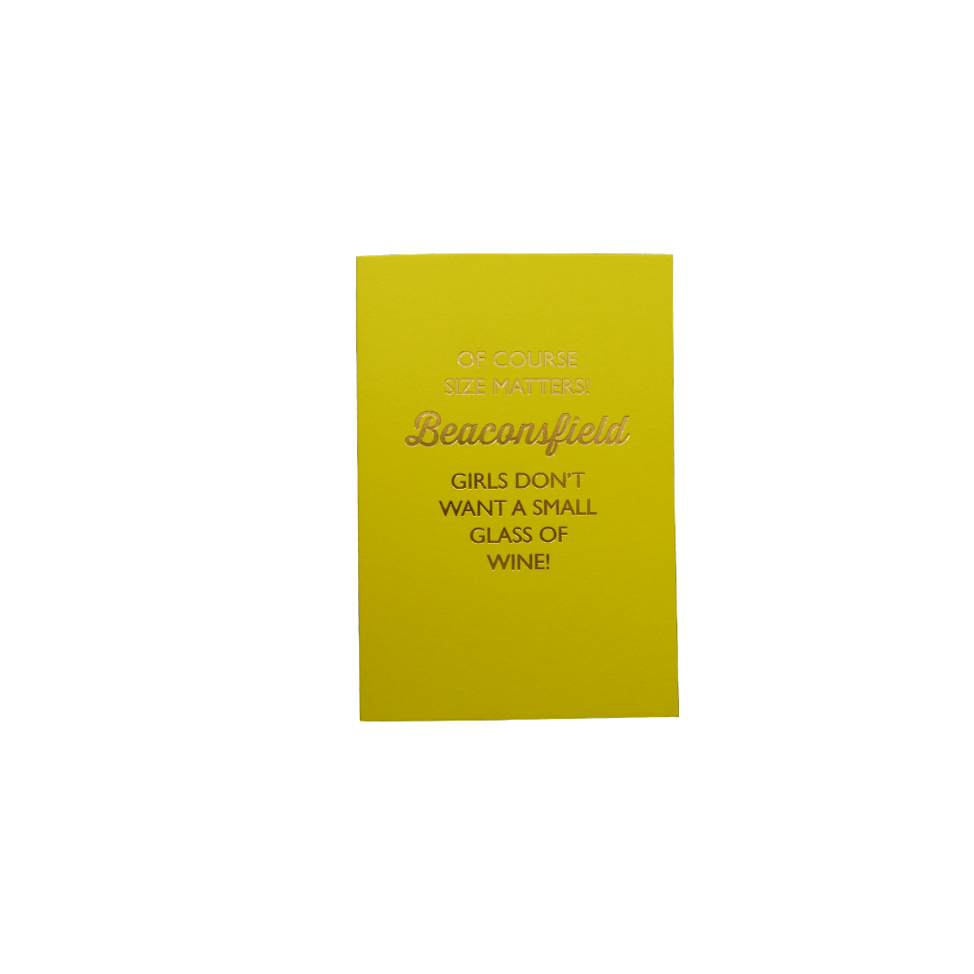 Card Female Bluebell - Size Matters BF  D244