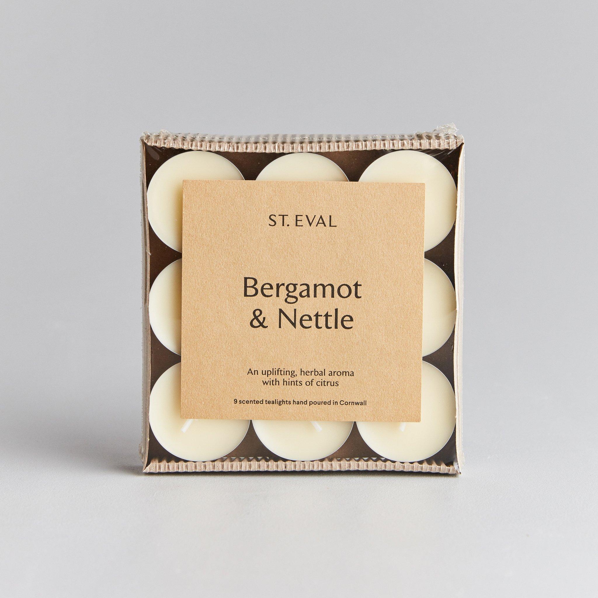 St Eval Tea Lights - Bergamot & Nettle