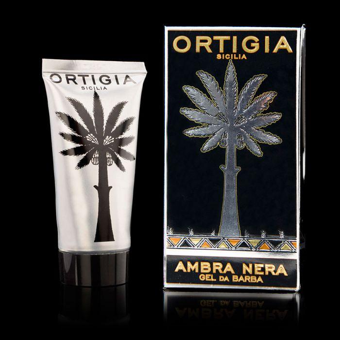 Ortigia Men Shaving Gel - Ambra Nera