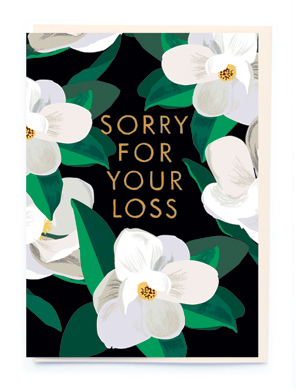 Card Sympathy Noi - Sorry For Your Loss BA015