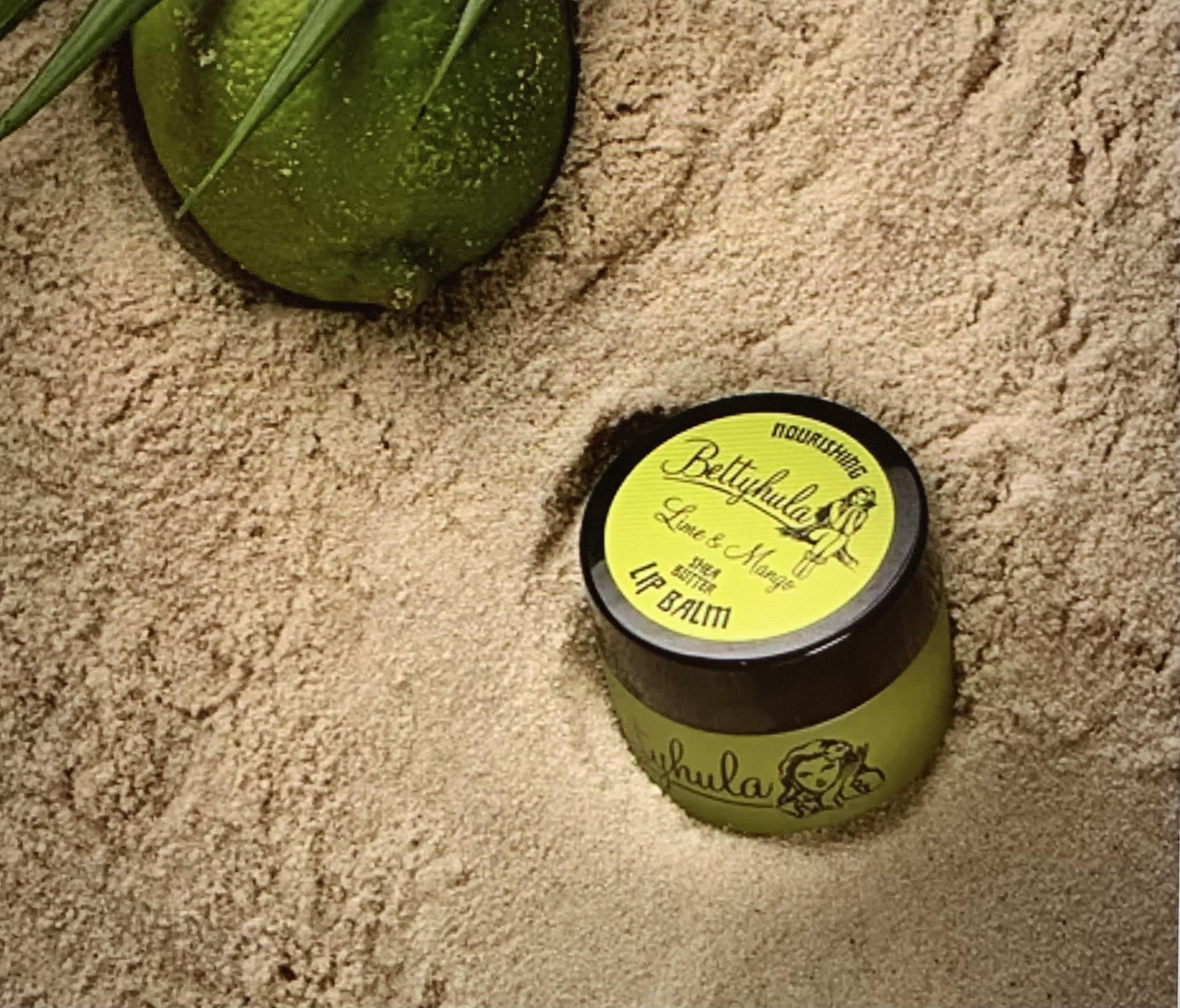 Betty Hula Nourishing Lip Balm - Lime & Mango