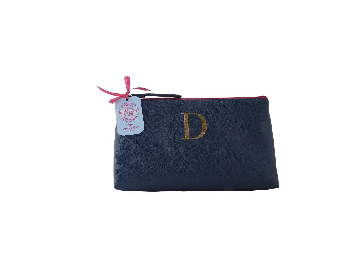 Bombay Duck Alphabet Make Up Bag - D