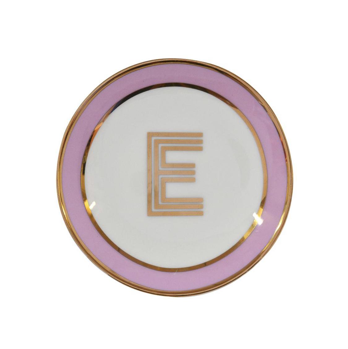 Bombay Duck Alphabet Trinket Dish - E