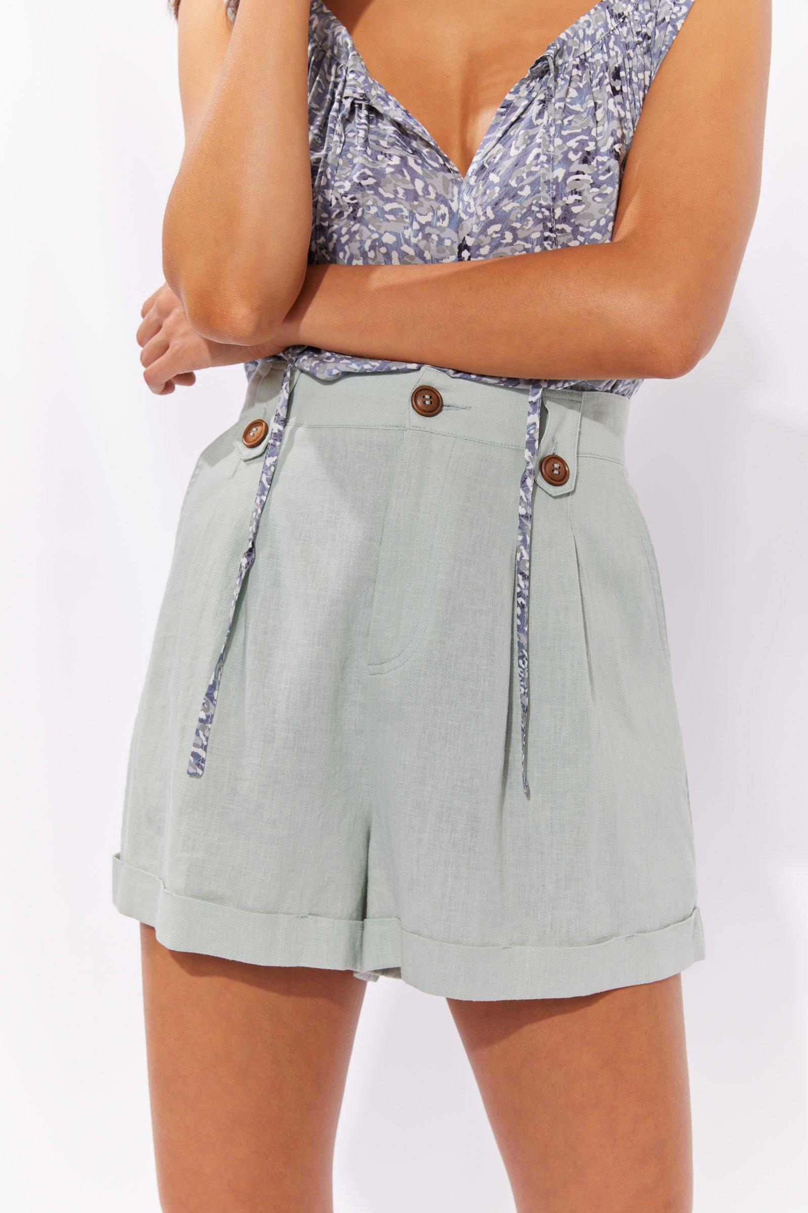 Haven Cuban Shorts - Mint