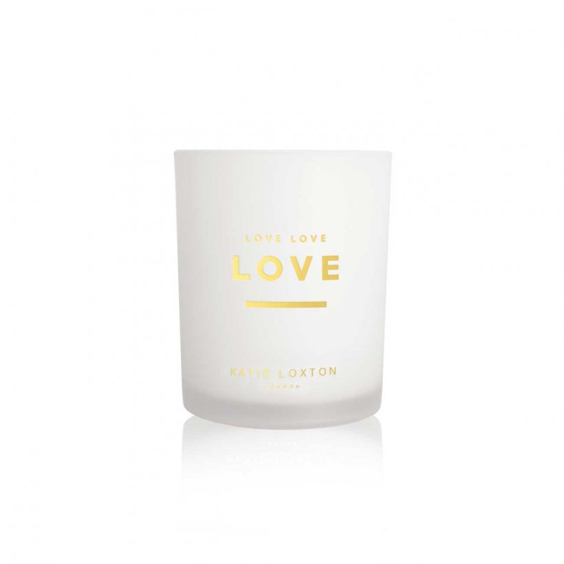 Katie Loxton Candle - NEW Love Love Love
