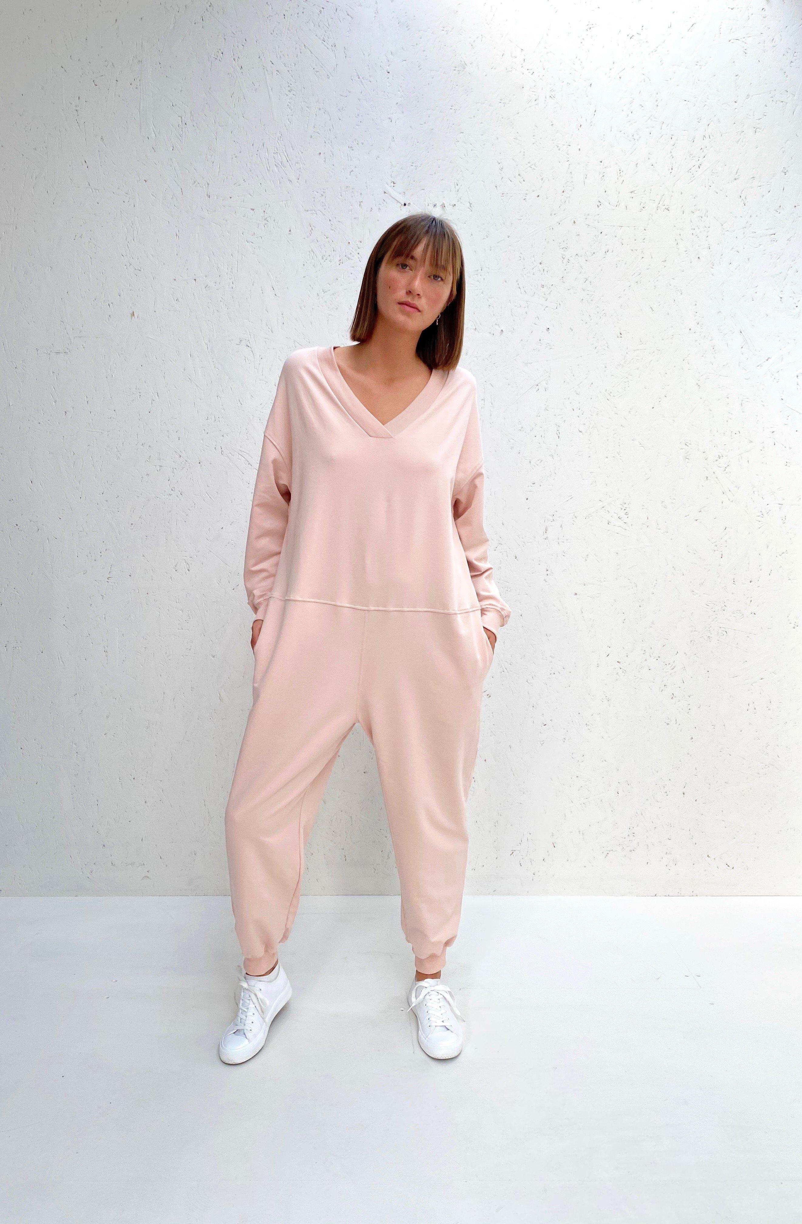 Chalk Onesie- Julie - Pink WAS £69