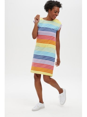 Sugarhill Brighton - Odette Dress Daylight Stripe