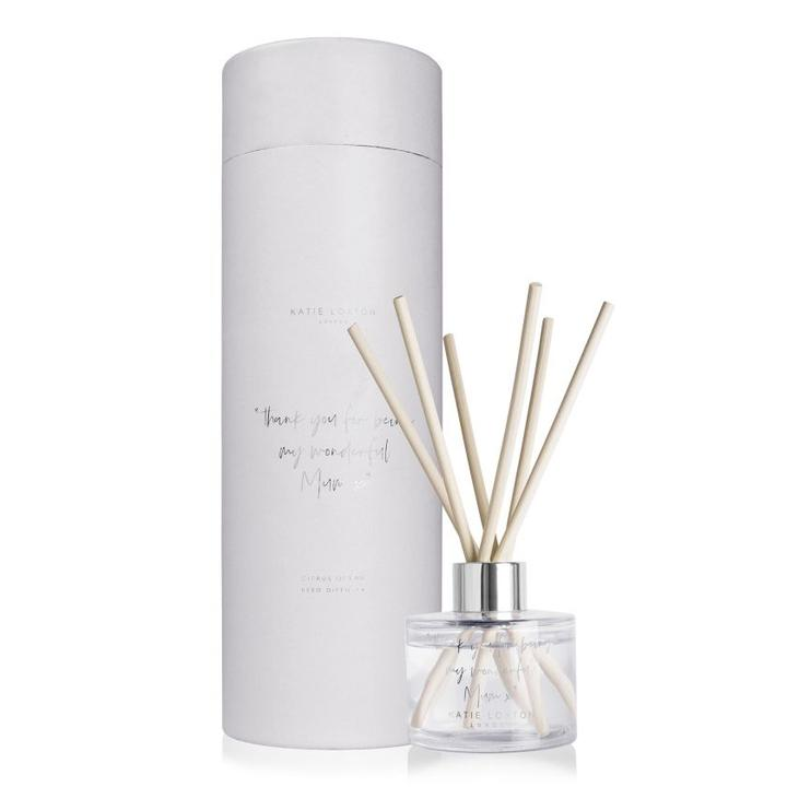 Katie Loxton Reed Diffuser - Thank You For Being My Wonderful Mum - Citrus Ocean