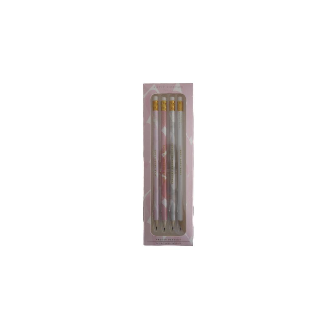 Katie Loxton Pretty Perfect Pencil Set (4)