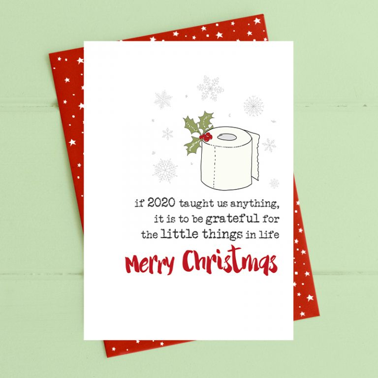Christmas Card Dandelion - Be Grateful For Little Things CVC06k