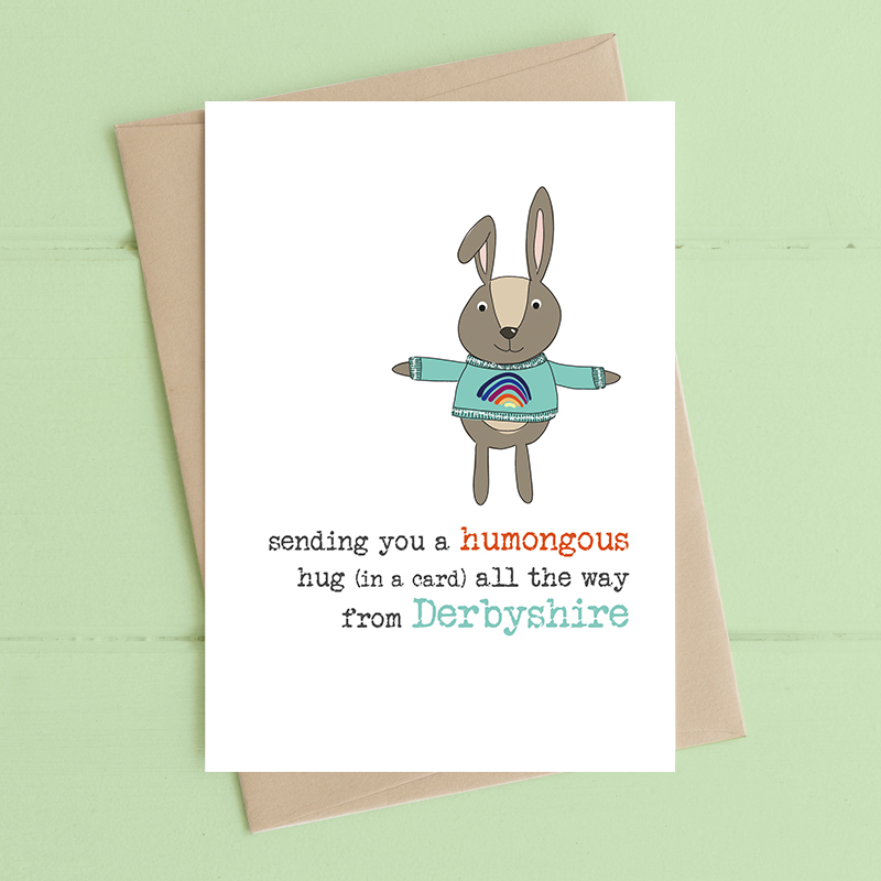 Card Thinking of You Dandelion - Humongous Hug BEACONSFIELD 638
