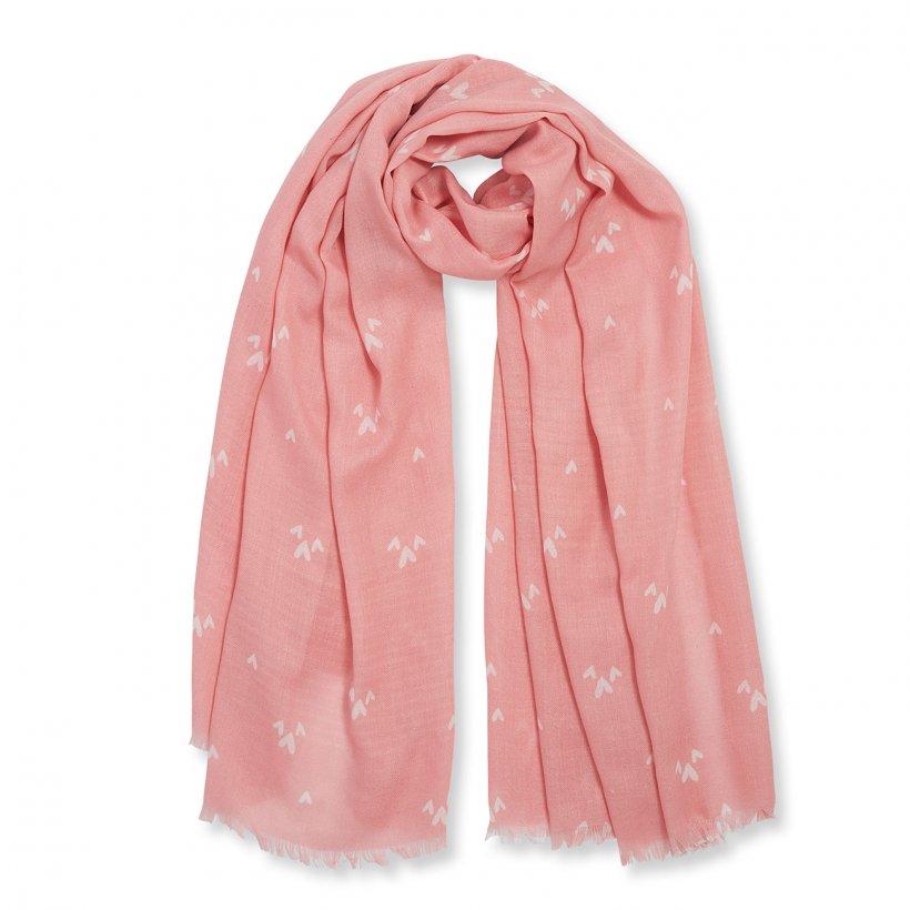 Katie Loxton Scarf - Mum in a Million Pink Heart Print KLS186