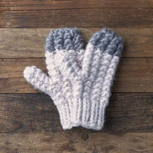 Lemon Collections Mittens - Seattle Tip Lilac Ash