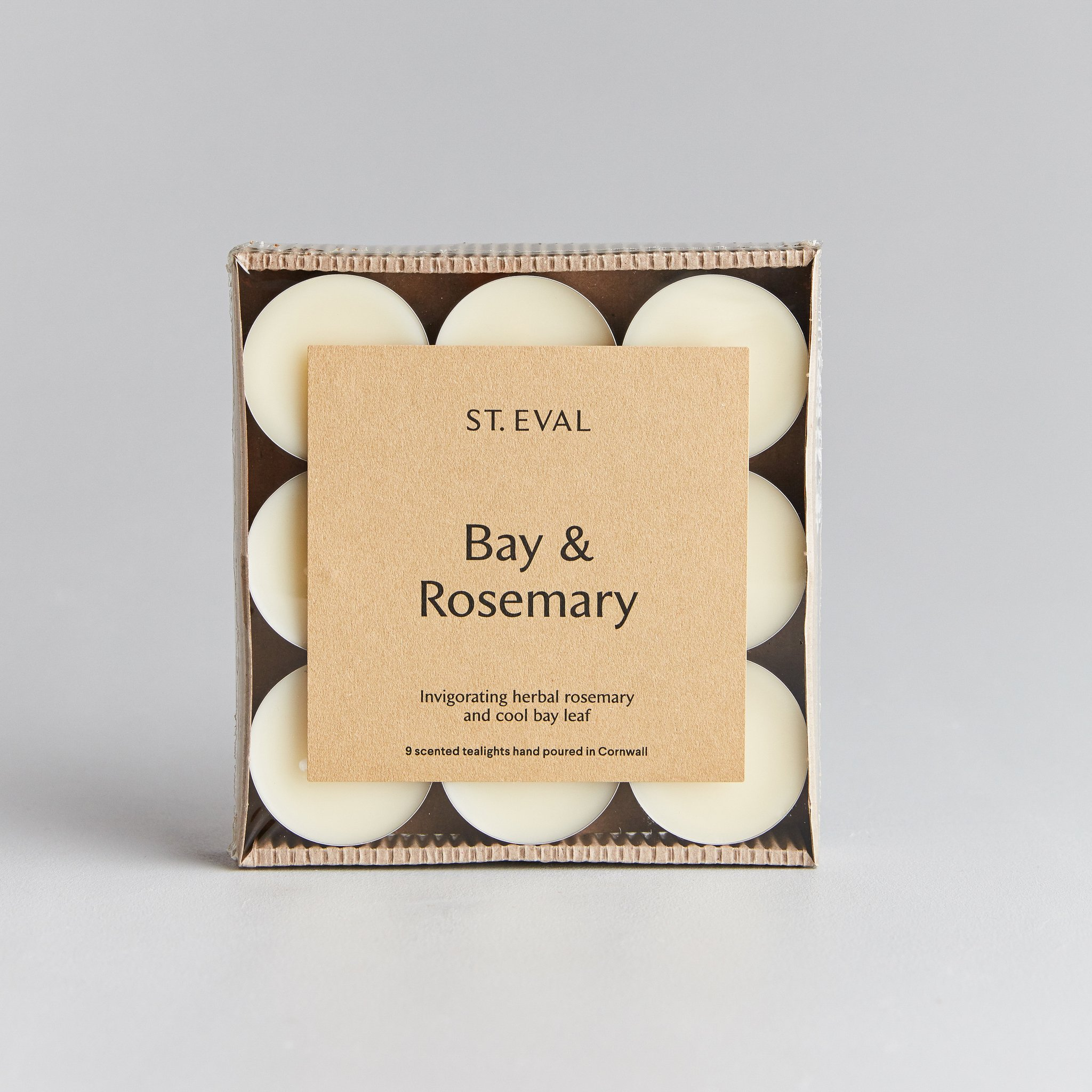 St Eval Tea Lights - Bay & Rosemary