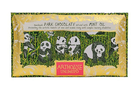 Arthouse Unlimited Dark Chocolate - Panda Party with Mint Oil