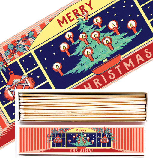 Christmas Matches - Extra Long - Home