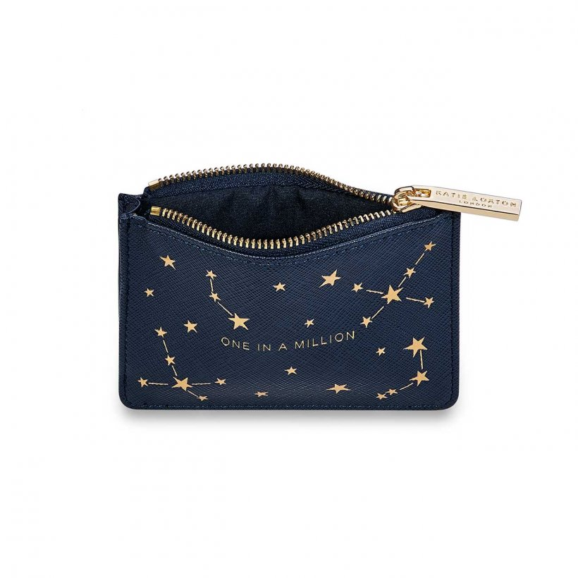 Katie Loxton Card Holder - 'One In A Million' Navy