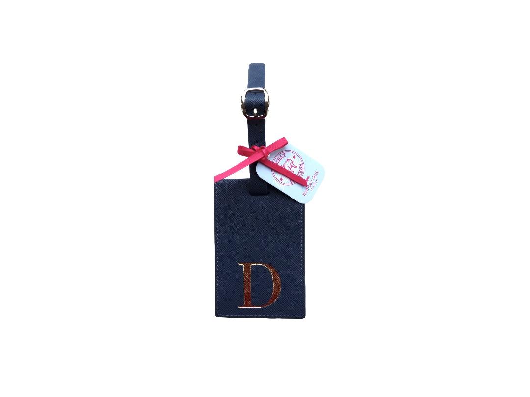 Bombay Duck Alphabet Luggage Tag - D