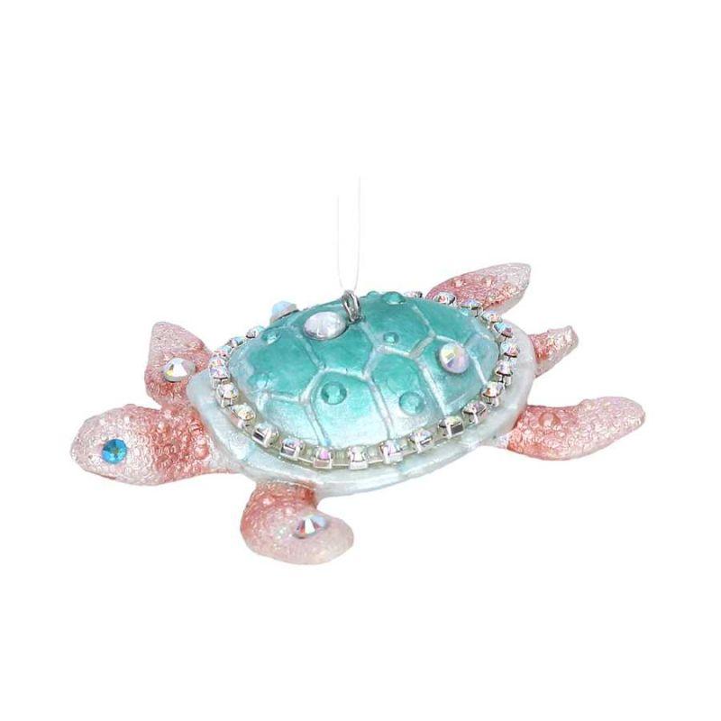 Gisela Graham Christmas Decoration Kingdom of the Sea - Turtle 16405