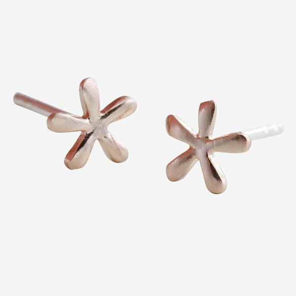 Stud Earrings Petal - Rose Gold BB22RG