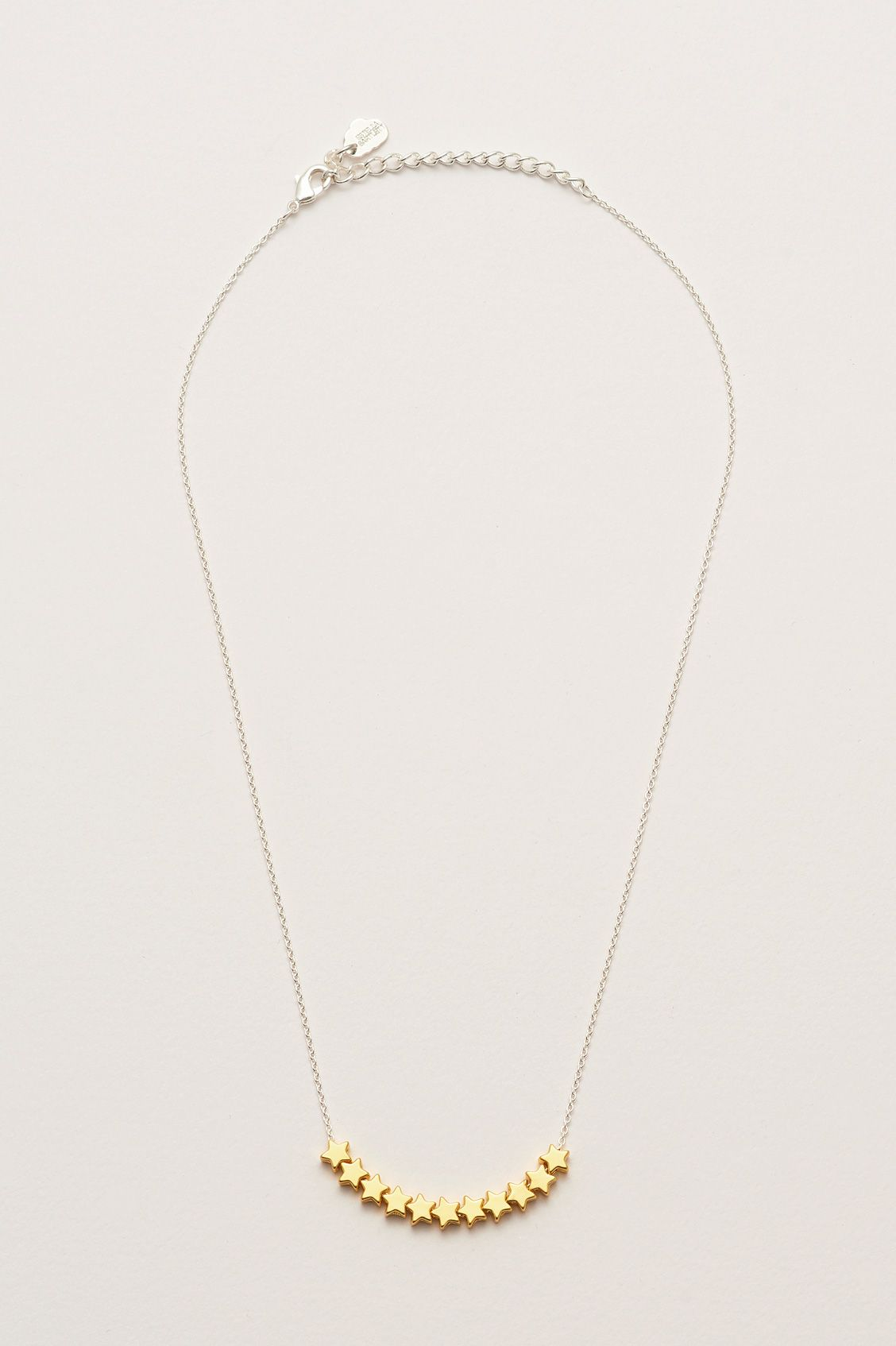 Estella Bartlett Necklace - Starry Eyed Girl Gold & Silver