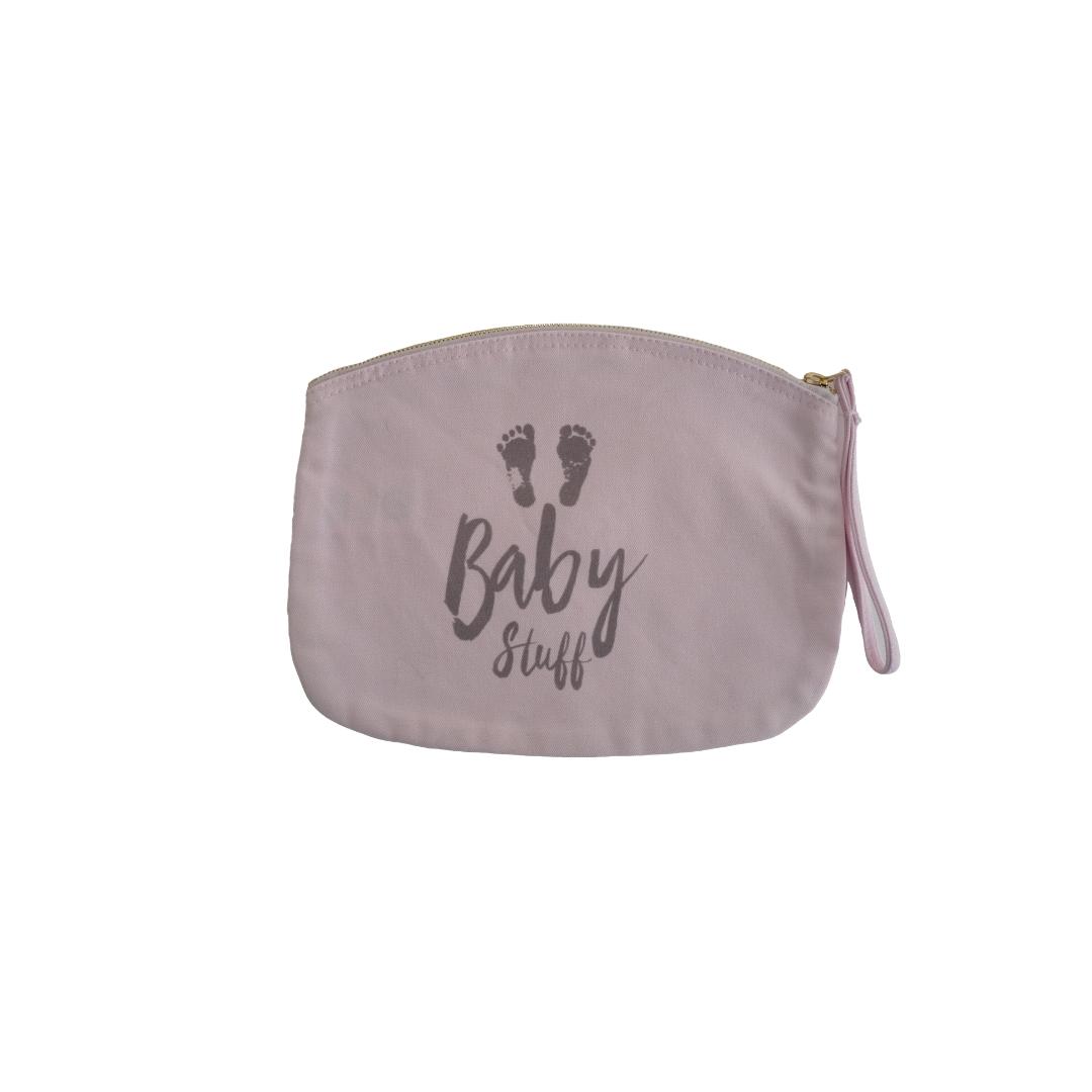 New Mummy Baby Stuff Pouch - Pink